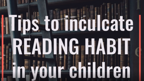 Tips to inculcate reading habit in your children